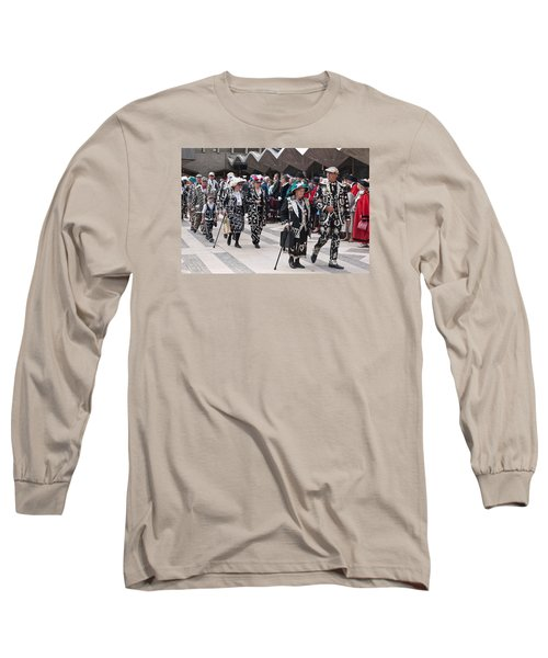 Pearly Kings And Queens Parade. Long Sleeve T-Shirt
