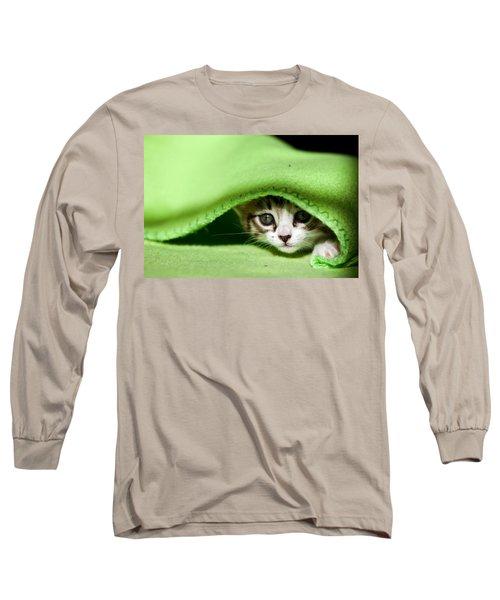 Peeking Long Sleeve T-Shirt