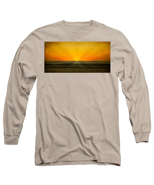 Peeking Over The Horizon Long Sleeve T-Shirt