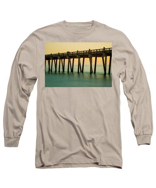 Pensacola Beach Fishing Pier Long Sleeve T-Shirt