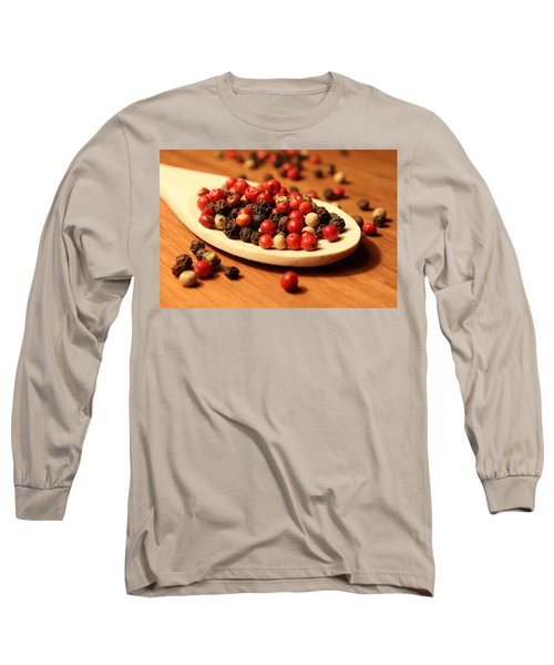 Peppercorns Long Sleeve T-Shirt by Joseph Skompski