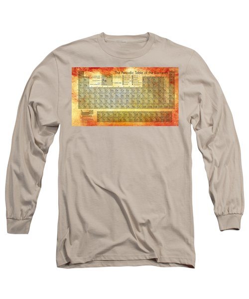 Periodic Table Of The Elements Long Sleeve T-Shirt
