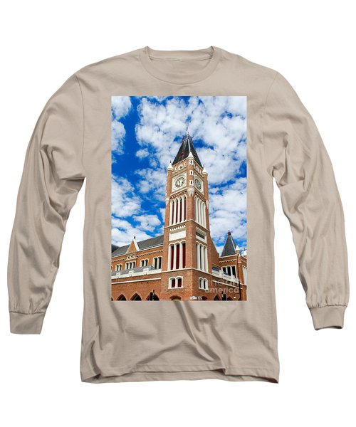 Long Sleeve T-Shirt featuring the photograph Perth Town Hall by Yew Kwang