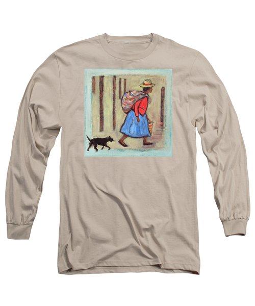 Peru Impression I Long Sleeve T-Shirt by Xueling Zou