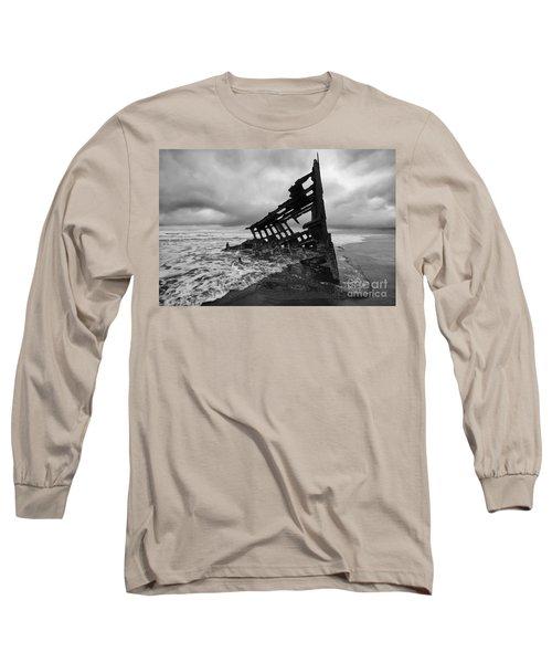 Peter Iredale Shipwreck Oregon 1 Long Sleeve T-Shirt