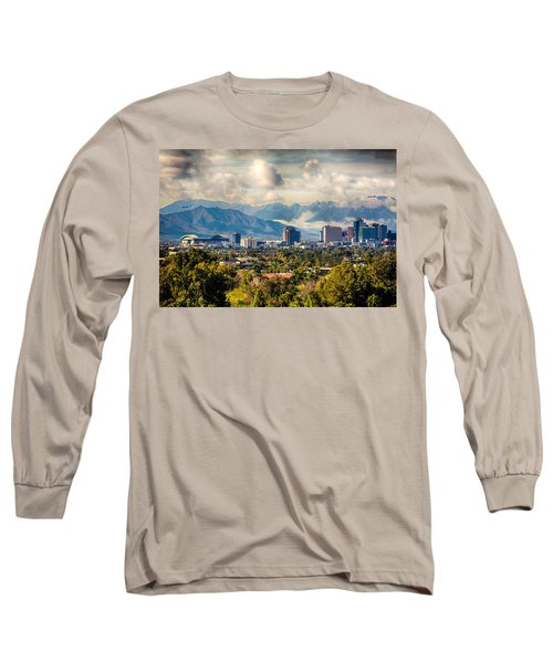 Phoenix Downtown Long Sleeve T-Shirt by Fred Larson