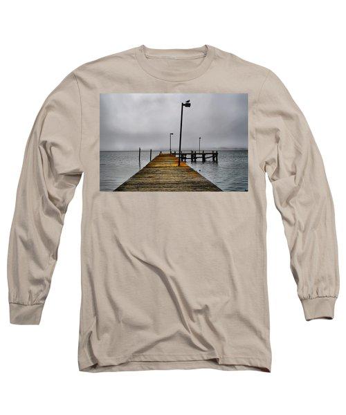 Pier Into The Fog Long Sleeve T-Shirt