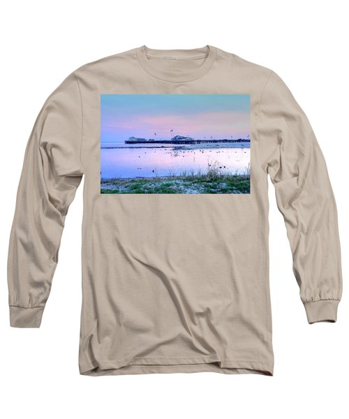 Pier Pond And Sea Long Sleeve T-Shirt