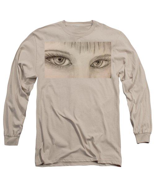 Piercing Eyes Long Sleeve T-Shirt