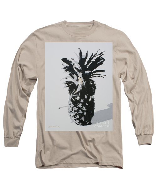 Pineapple Long Sleeve T-Shirt by Katharina Filus