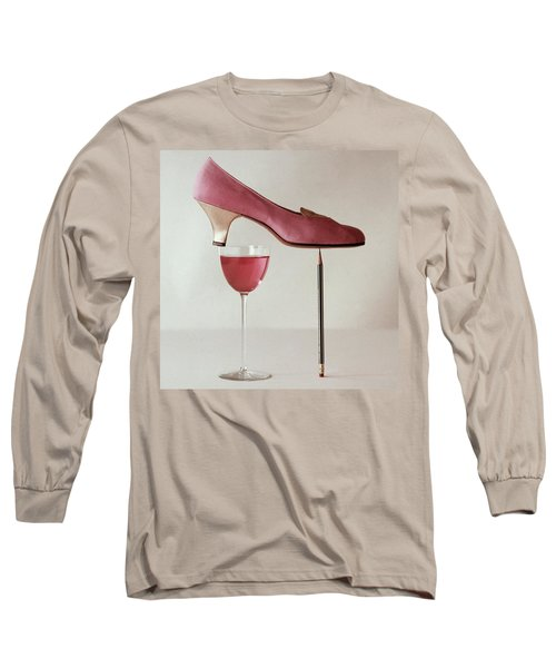 Pink Capezio Pump Long Sleeve T-Shirt