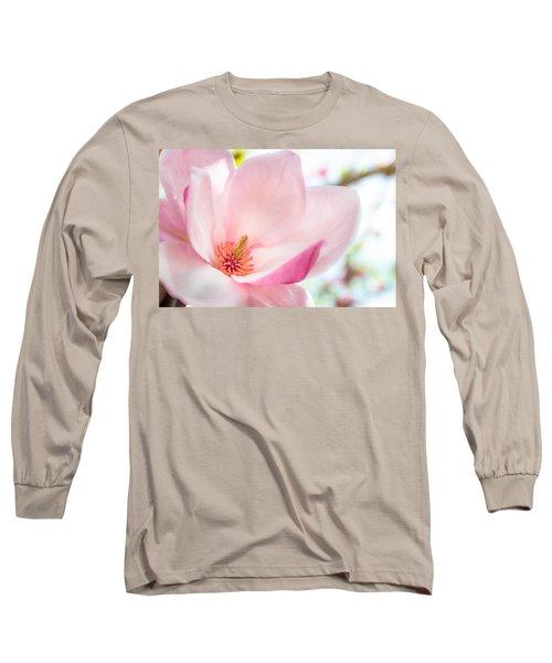 Pink Magnolia Long Sleeve T-Shirt