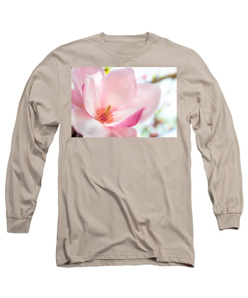 Pink Magnolia Long Sleeve T-Shirt
