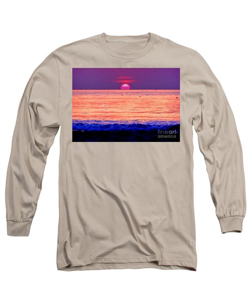 Pink Sun Long Sleeve T-Shirt