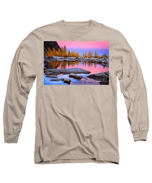 Pink Tarn - October Long Sleeve T-Shirt