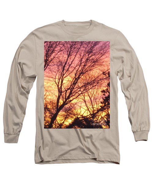 Pink Twilight Long Sleeve T-Shirt