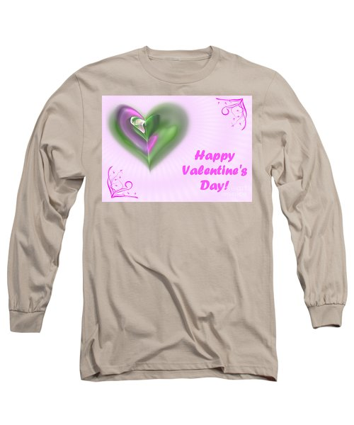 Pink Valentine Long Sleeve T-Shirt