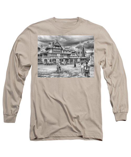 Long Sleeve T-Shirt featuring the photograph Pinocchio's Village Haus by Howard Salmon