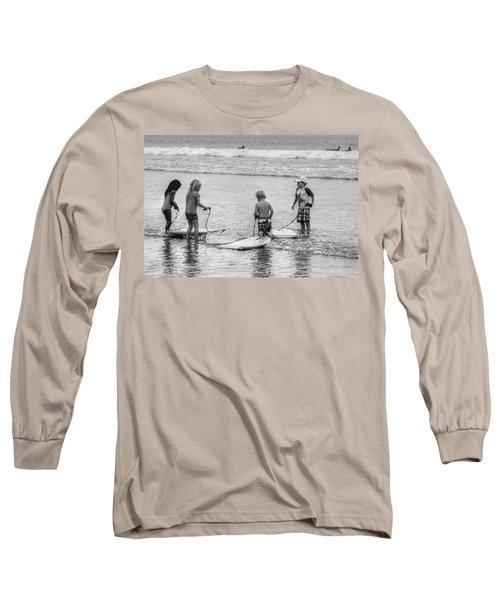 Pint Size Boogie Boarders Long Sleeve T-Shirt