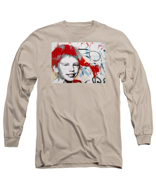 Pippi Longstocking  Long Sleeve T-Shirt by Juergen Weiss
