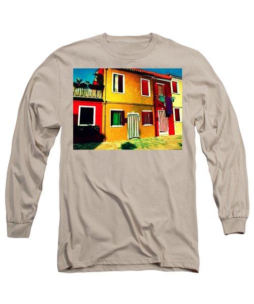 Pittoresco Villaggio Long Sleeve T-Shirt