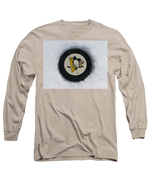 Pittsburgh Penguins Long Sleeve T-Shirt by Michael Krek