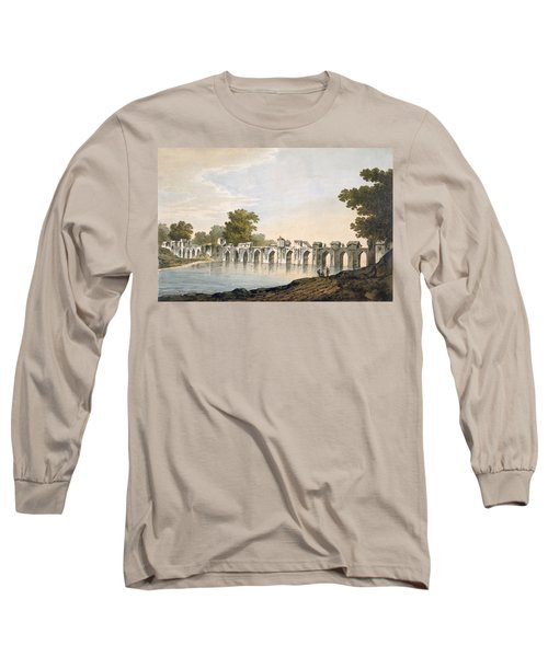 Pl. 34 A View Of The Bridge Long Sleeve T-Shirt