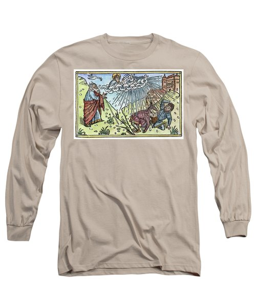 Long Sleeve T-Shirt featuring the painting Plague Of Hail by Granger