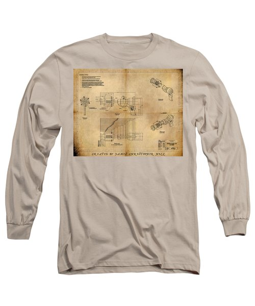 Plasma Gun Long Sleeve T-Shirt by James Christopher Hill
