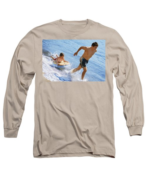 Playing In Water Long Sleeve T-Shirt