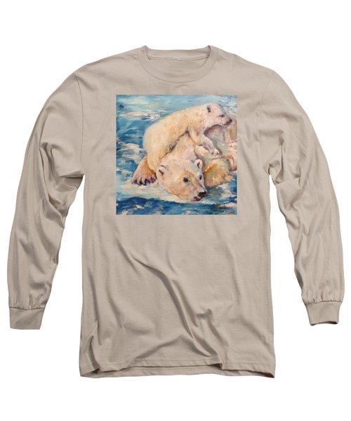 You Need Another Nap, Polar Bears Long Sleeve T-Shirt