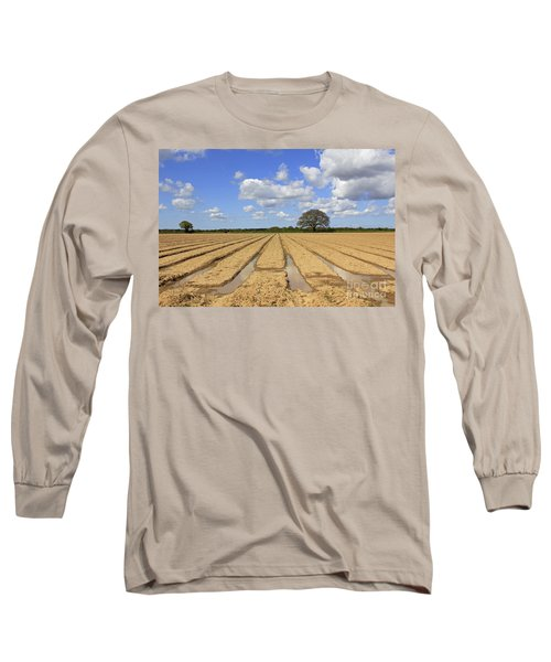 Ploughed Field Long Sleeve T-Shirt