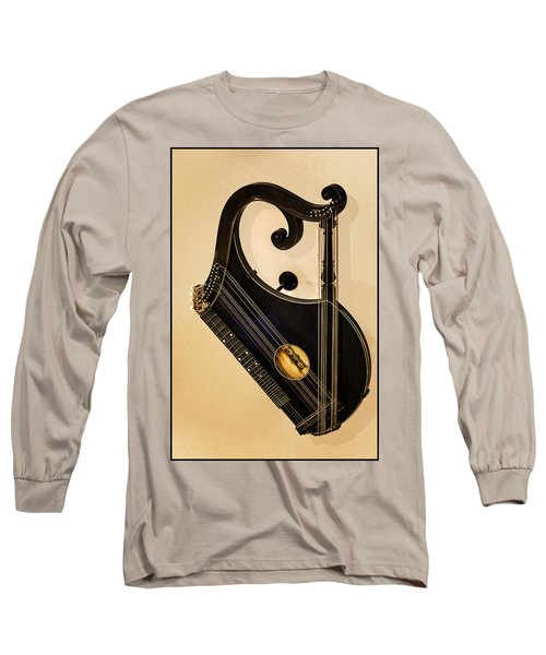 Plucked Vienna Zither Long Sleeve T-Shirt