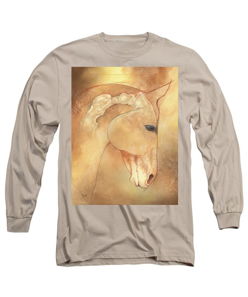 Poll Meet Atlas Axis Long Sleeve T-Shirt by Catherine Twomey