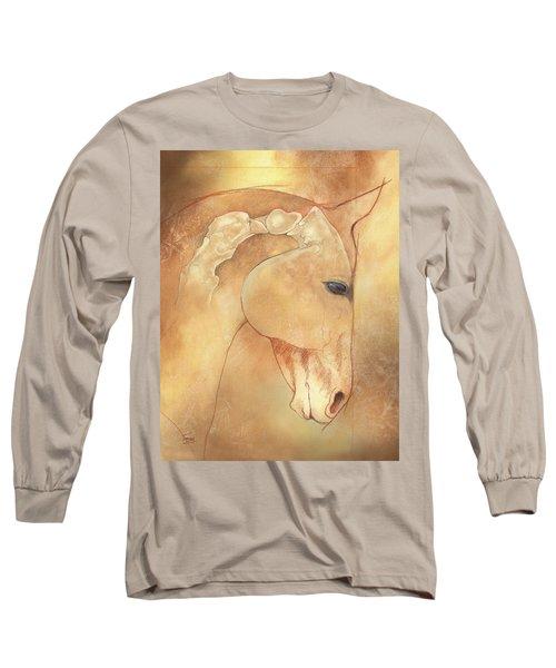 Poll Meet Atlas Axis Long Sleeve T-Shirt
