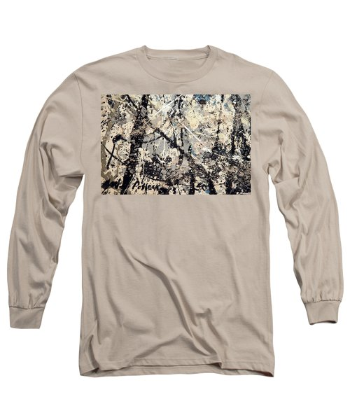 Pollock's Name On Lavendar Mist Long Sleeve T-Shirt