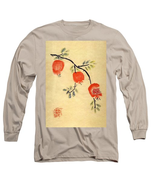 Pomegranates Long Sleeve T-Shirt