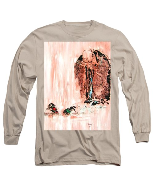 Pondering Aggression Long Sleeve T-Shirt
