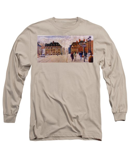 Pont Neuf Long Sleeve T-Shirt by Walter Casaravilla