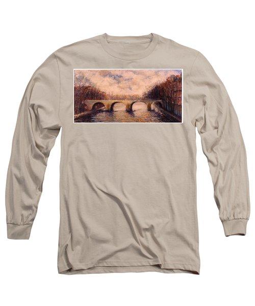 Pont Sur La Seine Long Sleeve T-Shirt