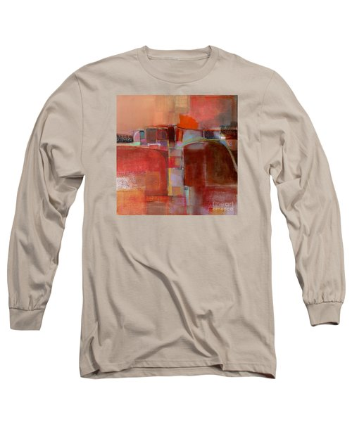 Long Sleeve T-Shirt featuring the painting Pont Des Arts by Michelle Abrams