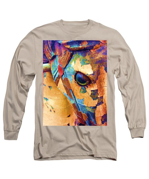 Pony Long Sleeve T-Shirt by Julio Lopez