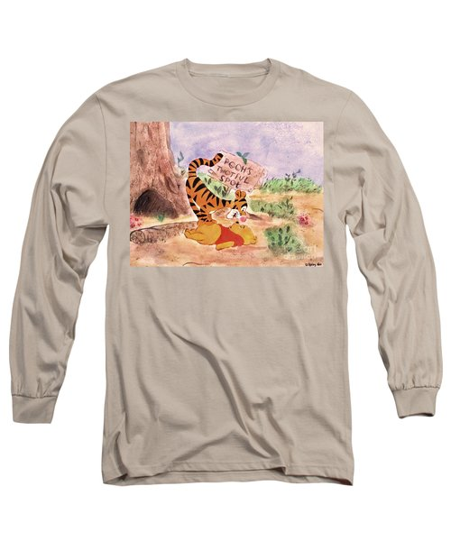 Pooh Bear Got Bounced Long Sleeve T-Shirt