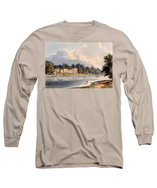 Popes Villa At Twickenham, 1828 Long Sleeve T-Shirt