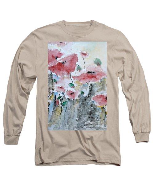 Poppies 01 Long Sleeve T-Shirt