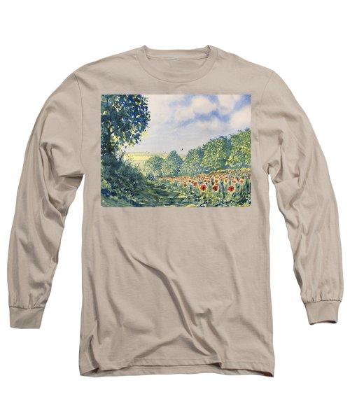 Poppies A'plenty Long Sleeve T-Shirt