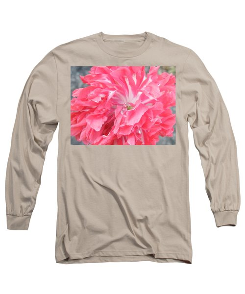 Popping Pink Long Sleeve T-Shirt by Brian Boyle