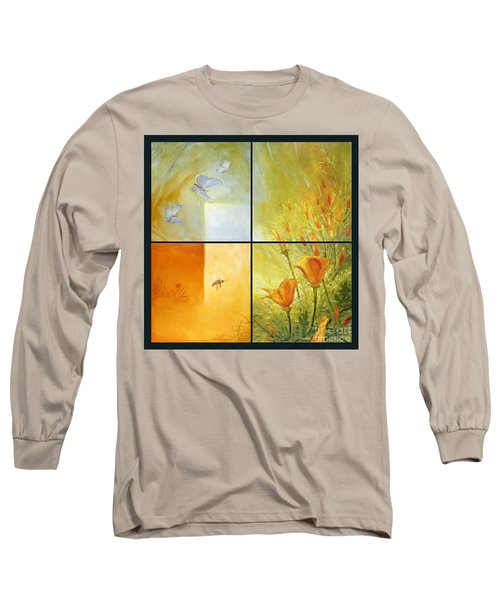 Poppy Pollination Long Sleeve T-Shirt