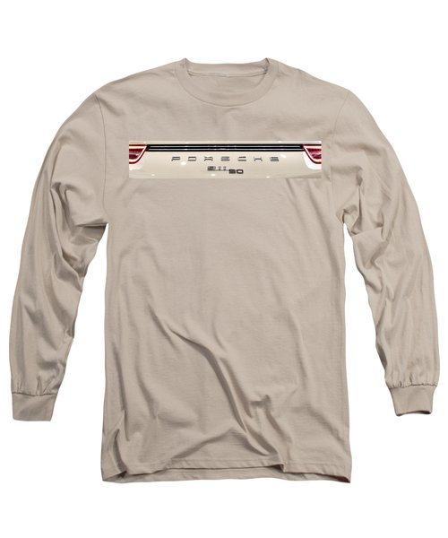Porsche 50th Anniversary Rear Badge Long Sleeve T-Shirt