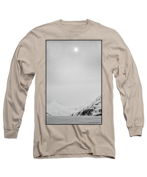 Portage Lake In Fog Long Sleeve T-Shirt